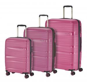 Travelite Motion S,M,L Rose – sada 3 kufrů