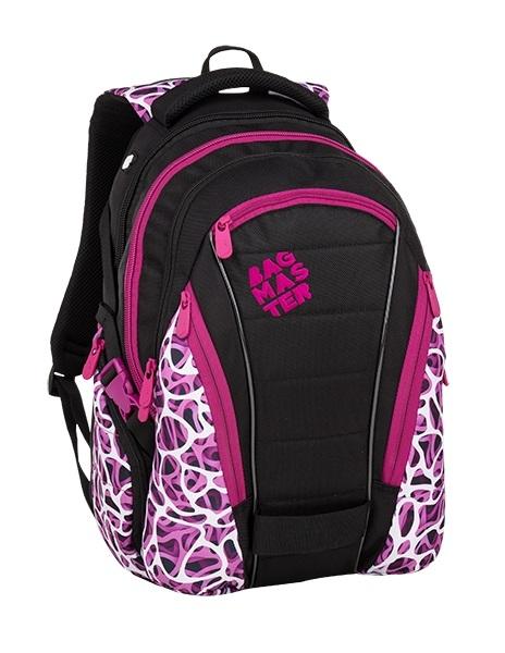 Bagmaster Bag 9 C Purple/white/black