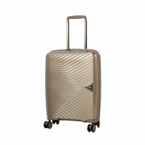 March Gotthard S Silver Bronze ultralehký palubní kufr na 4 kolečkách TSA 55x40x20 cm 2,2 kg