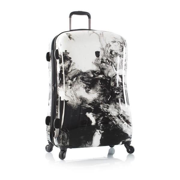 Heys Marble Swirl L polykarbonátový cestovní kufr TSA 76 cm 118 l