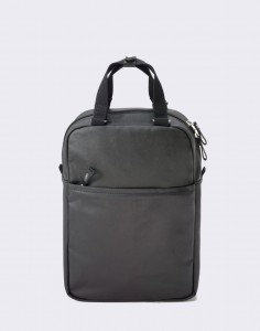 Batoh Qwstion Small Pack Organic Jet Black