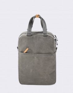Batoh Qwstion Small Pack Organic Washed Grey