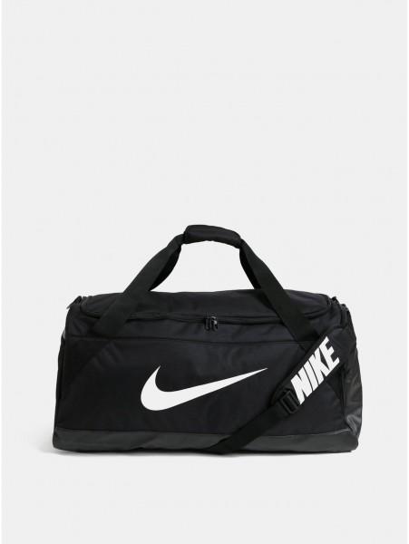 Černá sportovní taška s potiskem Nike 81 l