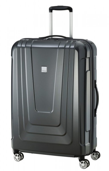 Titan X-ray 4w L Dark Stone cestovní kufr TSA 77 cm 102 l Made in Germany