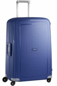 Samsonite Cestovní kufr S'Cure Spinner 10U 102 l – modrá