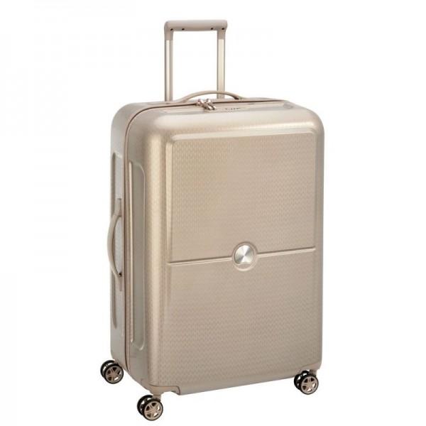 Delsey Turenne 4dw M+ Beige luxusní cestovní kufr TSA 70 cm 81 l