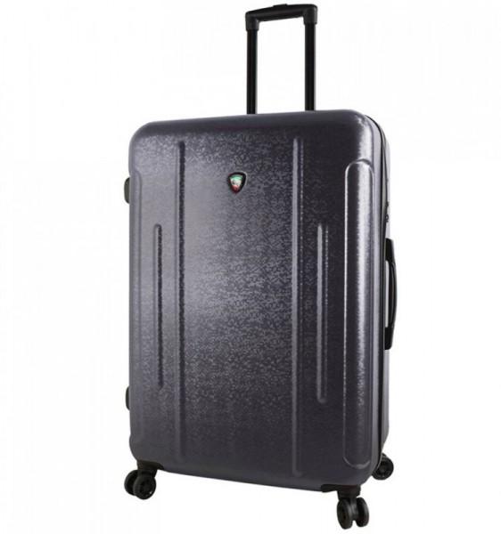 Mia Toro M1239 Manta L Black cestovní kufr na 4 kolečkách TSA 77 cm 97-121 l