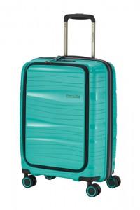 Travelite Kabinový cestovní kufr Motion S Front pocket Mint 43 l