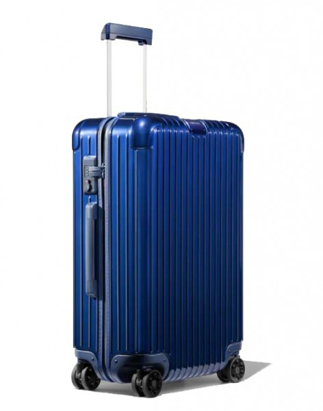 Rimowa Cestovní kufr Essential Check-In M 60 l – lesklá modrá