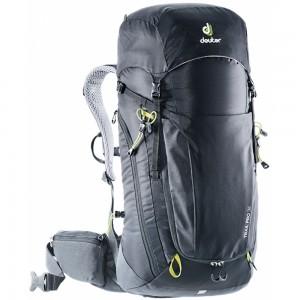 Turistický batoh DEUTER Trail Pro 36 black-graphite