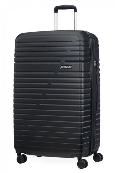 American Tourister Cestovní kufr Aero Racer EXP 61G 100/115 l – černá