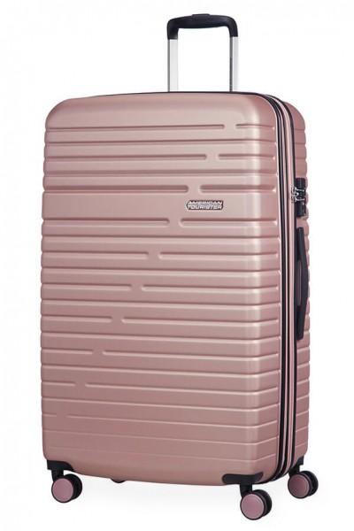 American Tourister Cestovní kufr Aero Racer EXP 61G 100/115 l – růžová