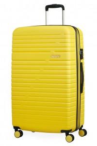American Tourister Cestovní kufr Aero Racer EXP 61G 100/115 l – žlutá