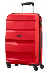 American Tourister Cestovní kufr Bon Air Spinner 85A 57,5 l – červená