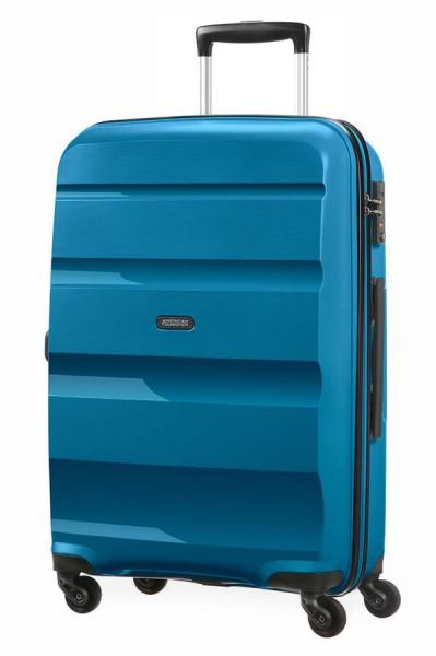 American Tourister Cestovní kufr Bon Air Spinner 85A 57,5 l – modrá