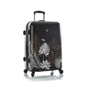 Heys Oasis M Black/Gold polykarbonátový cestovní kufr TSA 66 cm 88 l