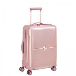 Delsey Turenne 4dw Cabin Slim S Beige luxusní palubní kufr TSA 55 cm