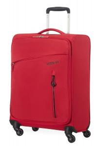 American Tourister Kabinový cestovní kufr Litewing Spinner 38G 41 l – červená