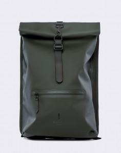 Batoh Rains Roll Top Rucksack 03 Green