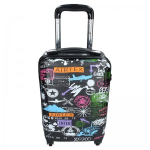 Cestovních kufr Airtex Paris 202/2 – černá