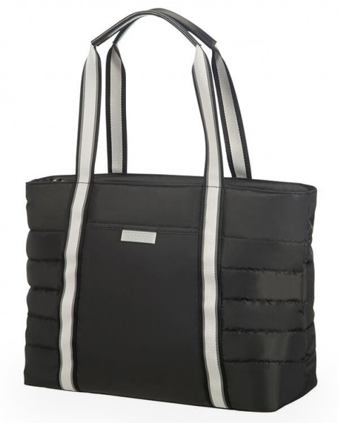 """American Tourister Cestovní taška Uptown Vibes 64G 15,5 l 14.1"""" – černá"""