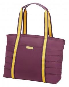 """American Tourister Cestovní taška Uptown Vibes 64G 15,5 l 14.1"""" – fialová"""
