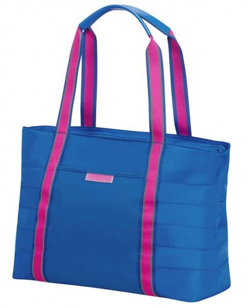 """American Tourister Cestovní taška Uptown Vibes 64G 15,5 l 14.1"""" – modrá"""