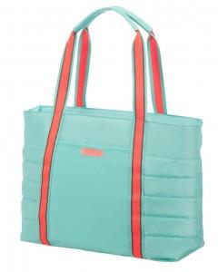 """American Tourister Cestovní taška Uptown Vibes 64G 15,5 l 14.1"""" – tyrkysová"""