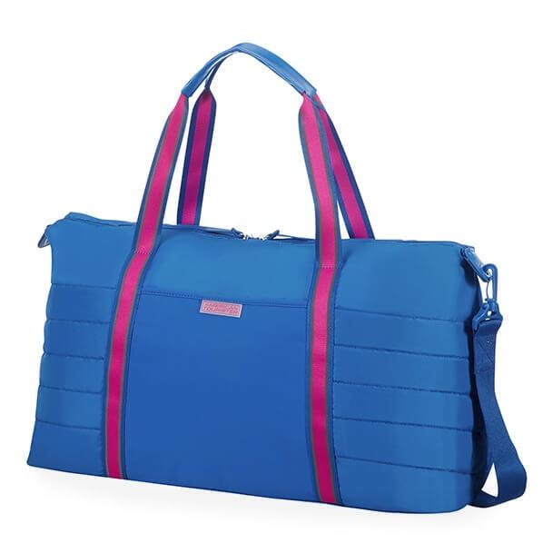 American Tourister Cestovní taška Uptown Vibes 64G 34 l – modrá