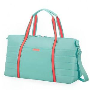 American Tourister Cestovní taška Uptown Vibes 64G 34 l – tyrkysová