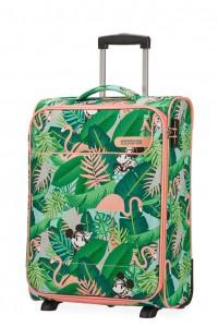 American Tourister Kabinový cestovní kufr Funshine Disney Upright 49C 39 l – Minnie Miami Palms