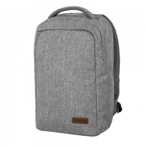 Travelite Městský batoh Basics Safety Light grey 23 l