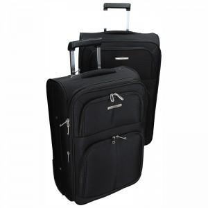 Sada dvou cestovních kufrů Airtex Paris 9105 – černá