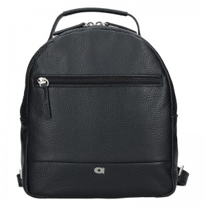 Dámský kožený batoh Daag Native 11 – černá