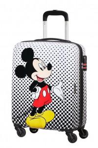 American Tourister Kabinový cestovní kufr Disney Legends Spinner 19C 36 l – Mickey Mouse Polka Dots