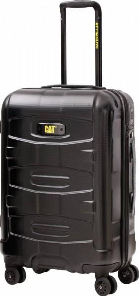 CAT Tank Cargo M polykarbonátový cestovní kufr TSA Black 68 cm 60 l