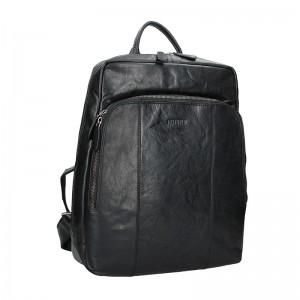 Pánský kožený batoh Justified Arthur – černá
