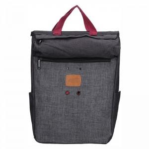 Trendy batoh New Rebels Fly – šedo-černá