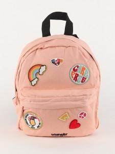 Batoh Wrangler Badge Backpack Peach Parfait Oranžová