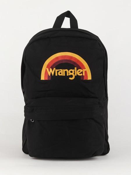 Batoh Wrangler Rainbow Bkp Black Černá