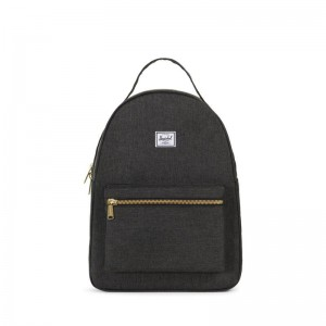 Herschel Supply Nova Mid Black Crosshatch