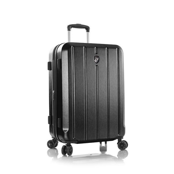 Heys Para-Lite M Black elegantní cestovní kufr 4dw TSA 4,0 kg 66 cm 83 l