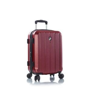 Heys Para-Lite S Red elegantní palubní kufr 4dw TSA 3,0 kg 53 cm 46 l