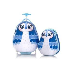 Heys Travel Tots Blue Jay / Modrá sojka dětská sada kufru 46 cm a batohu