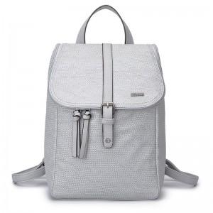 Dámský fashion batoh Tamaris Alessia – světle šedá