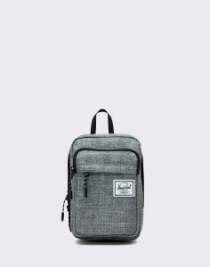 Herschel Supply Form Large Raven Crosshatch
