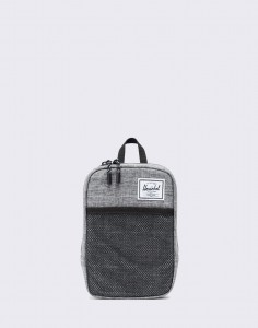 Herschel Supply Sinclair Large Raven Crosshatch