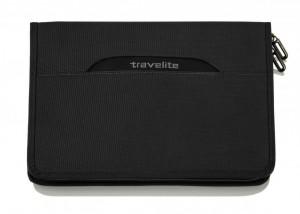 Travelite CrossLite Portfolio konferenční desky s organizérem černé