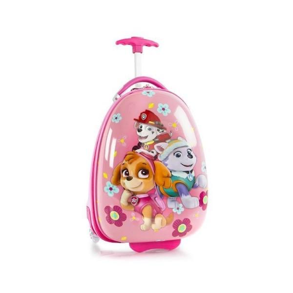 Heys Kabinový cestovní kufr Kids Paw Patrol 2w Pink 13 l