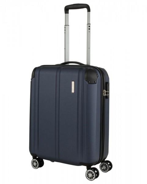Travelite Kabinový cestovní kufr City 4w S Navy 40 l
